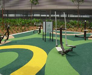 Green Site EPDM Flooring